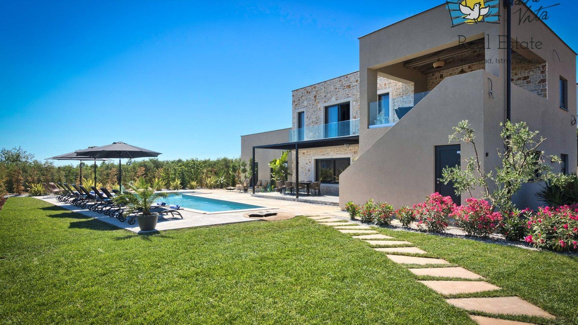Designer villas are the pinnacle of uniqueness in architecture