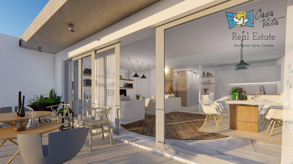 Apartment, 96 m2, For Sale, Novigrad
