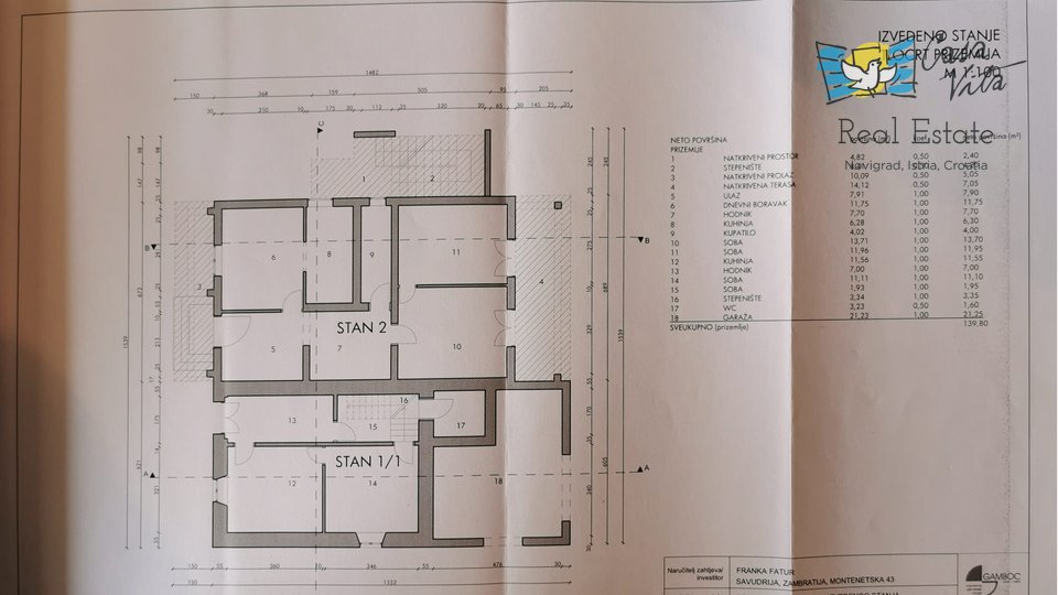Haus, 353 m2, Verkauf, Zambratija