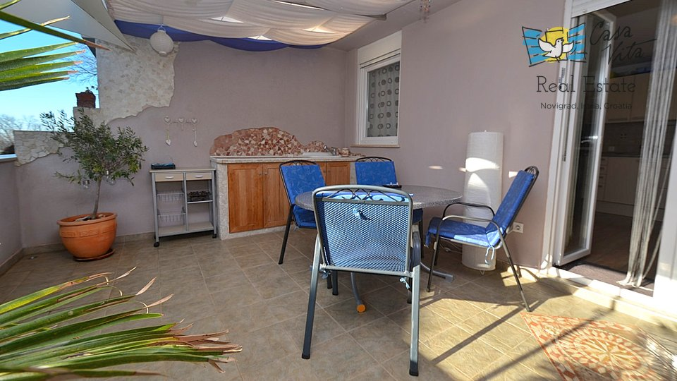 Ground floor apartment for sale, 200 m from the sea