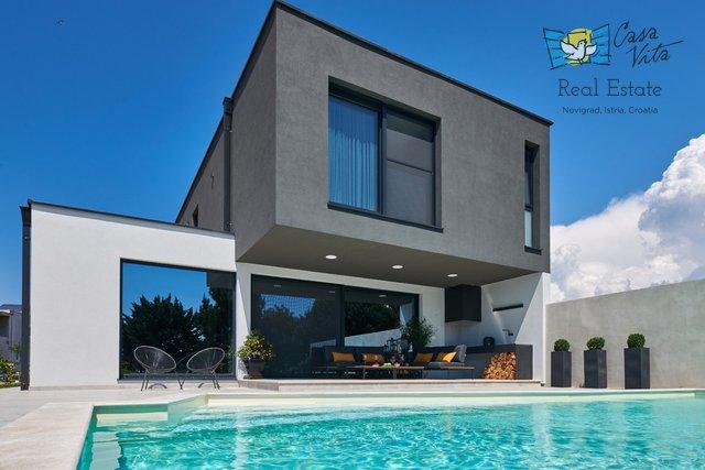Zum Verkauf steht eine moderne und wunderschön eingerichtete Villa in ruhiger Lage in Novigrad!