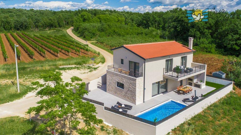 Beautiful and modern villa near Novigrad, with a beautiful view!