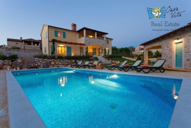 Beautiful villa near Porec, with a beautiful sea view!