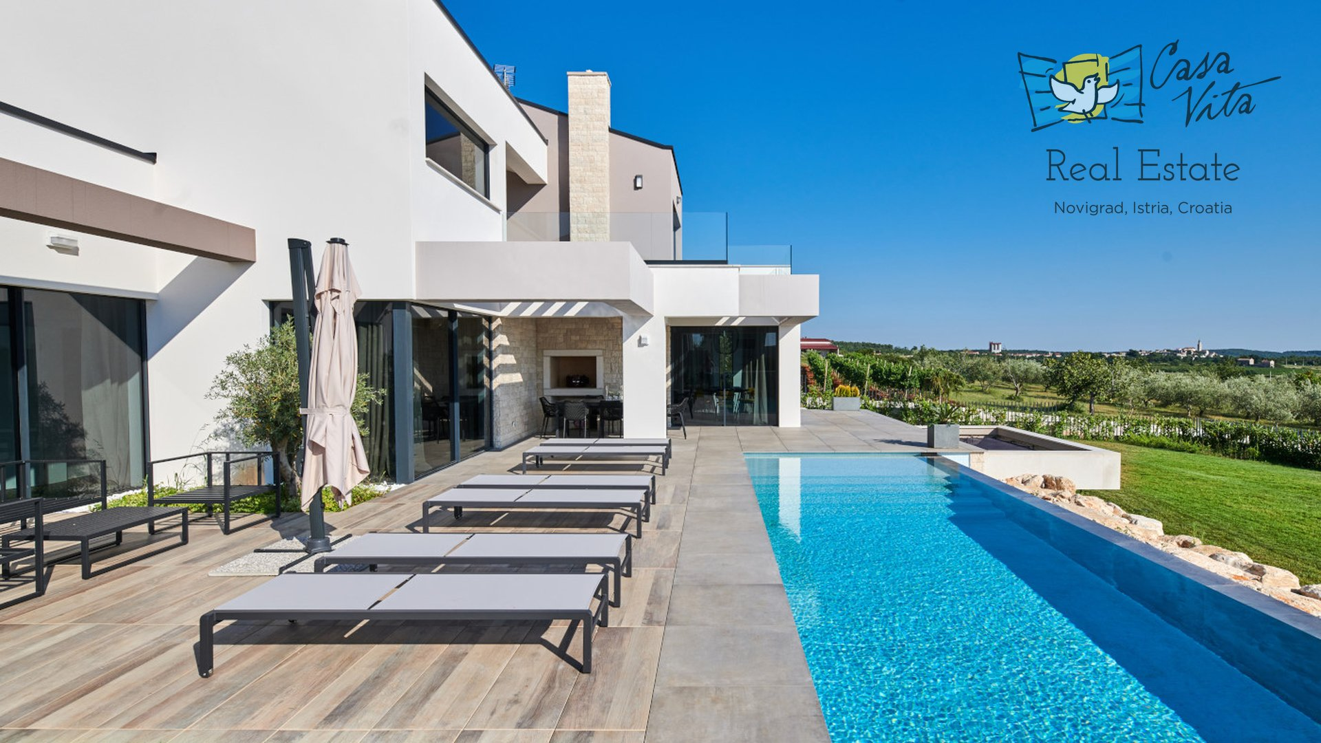 Bellissima villa  con una splendida  vista sul mare!