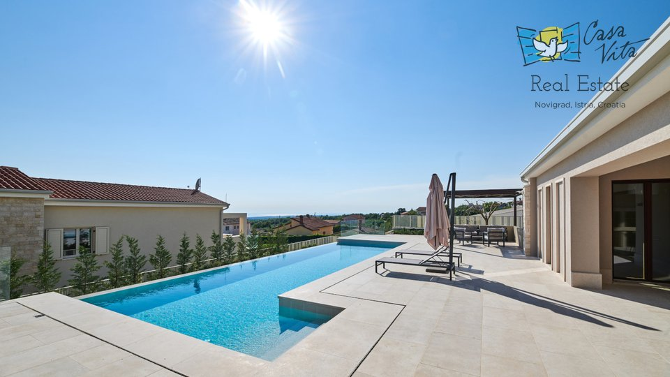 Luxury villa  near Poreč! Beautiful sea view!