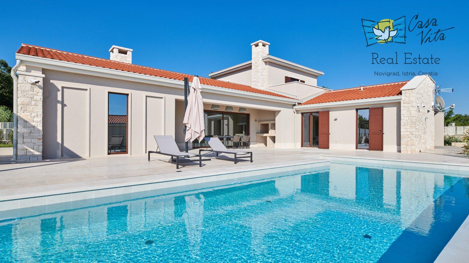 Prekrasna vila modernog dizajna sa koje se pruža predivan pogled na more!