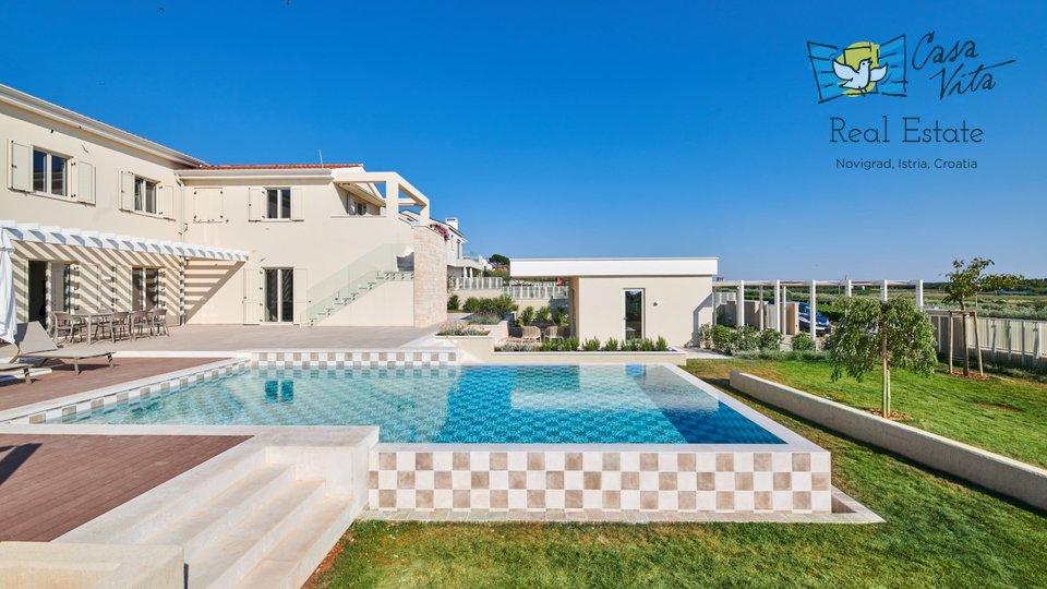 Schöne Villa mit Panoramablick auf das Meer in der Nähe von Poreč!