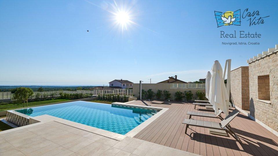 Prekrasna moderna vila nedaleko od Poreča!
