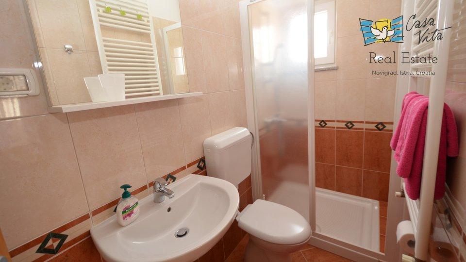 Appartamento carino e spazioso in un'ottima posizione, a 500 metri dal mare!