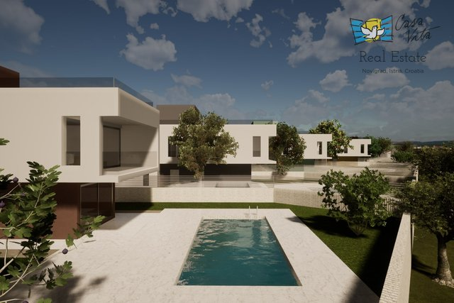 Villas under construction in northwestern Istria!