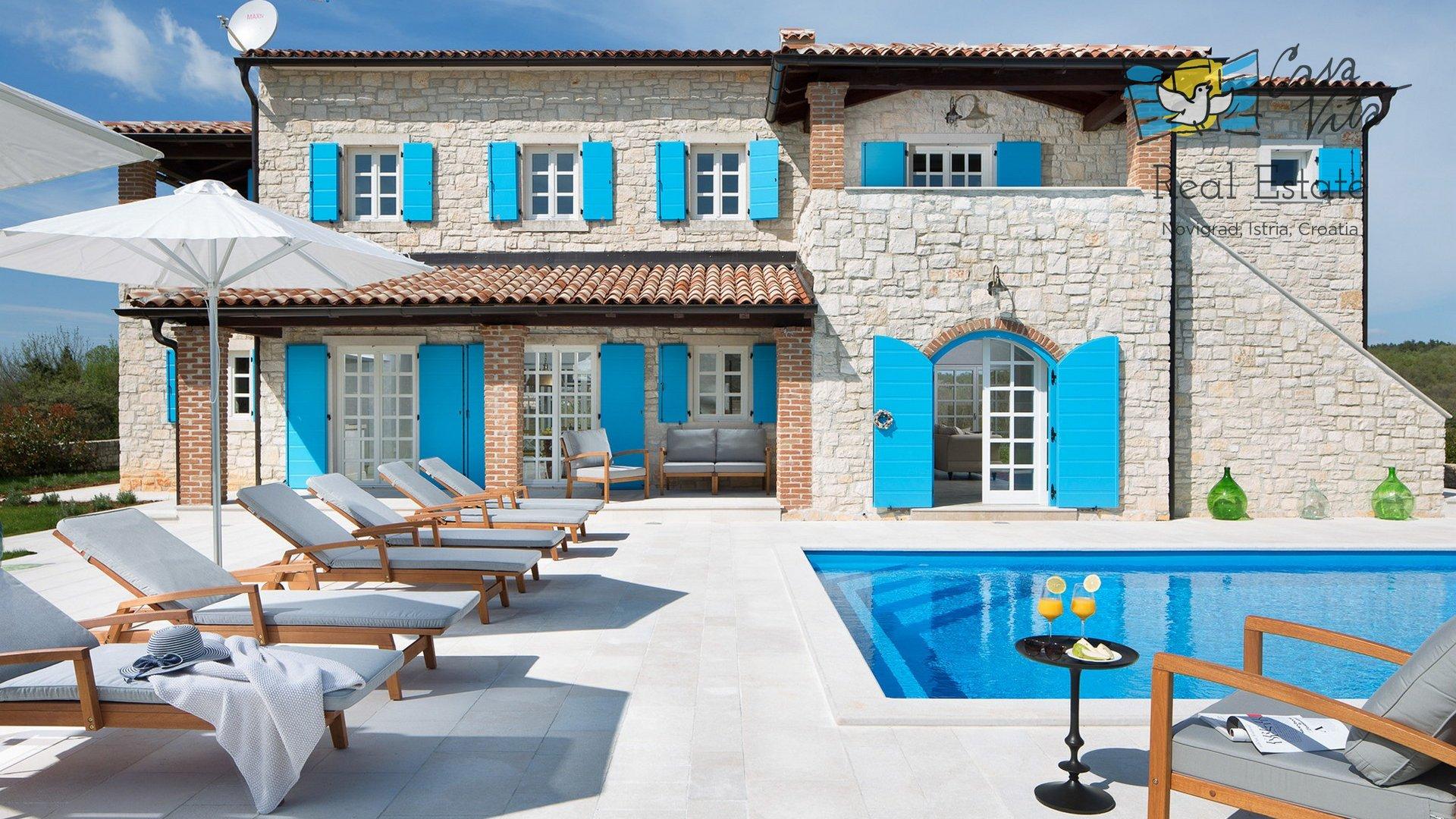 Beeindruckende Steinvilla in Zentral-Istrien!