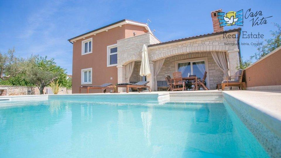 Freistehende Villa mit Pool in der Nähe von Poreč!