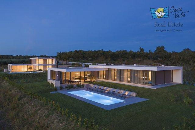 Luksuzne vile u Novigradu!