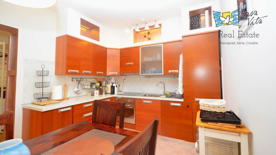 Apartment in Novigrad in a great location - 500m from the sea!