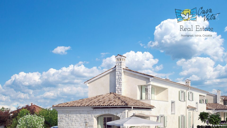 House with pool under construction 3km from the town of Novigrad!