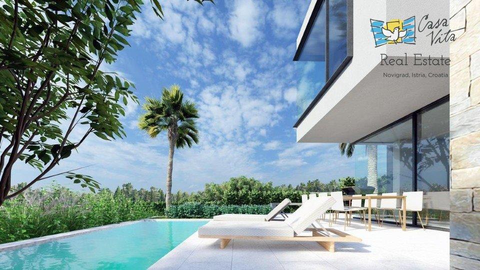 Poreč - luxury duplex house 800 m from the sea!