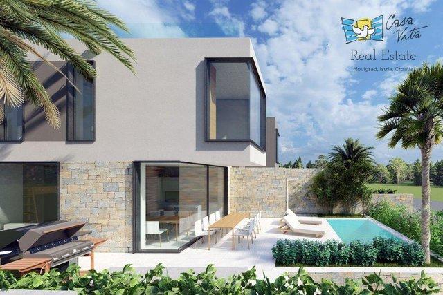 Poreč - luksuzne duplex kuće 800m od mora!