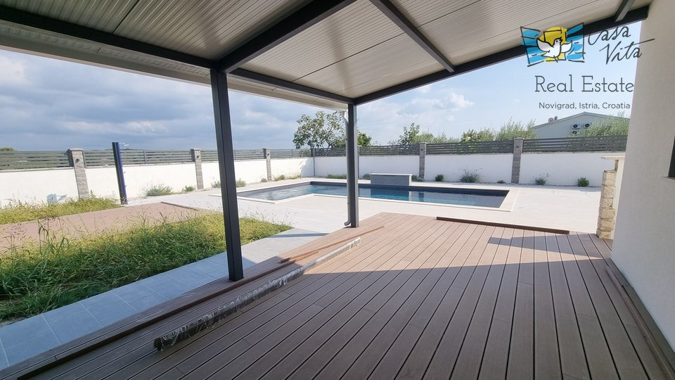 WIDER SURROUNDINGS OF POREČ !!! Detached house with pool, sea view
