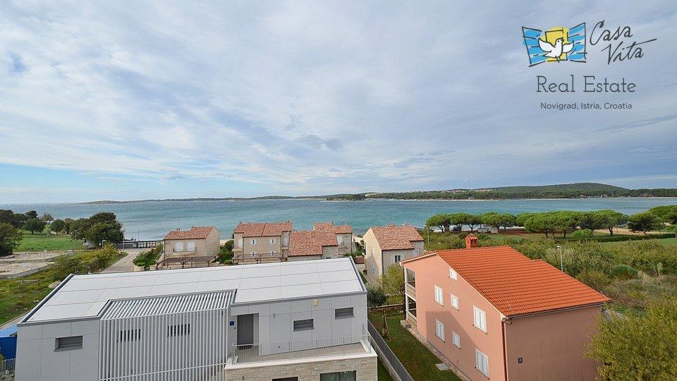 Penthouse u Medulinu sa predivnim pogledom na more i 100m do mora!