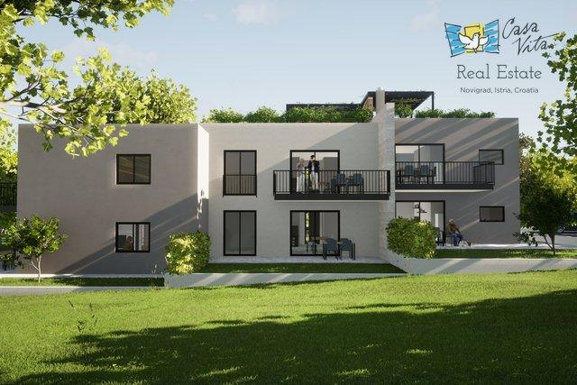 Moderni stanovi u izgradnji u okolici grada Poreča!