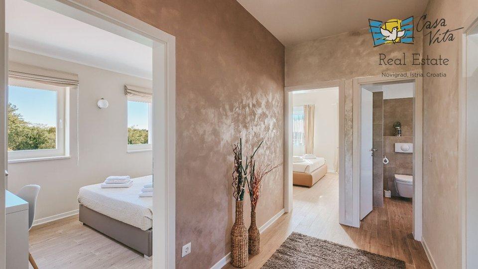 Svetvincenat, 3 km: Villa mit Pool mit 4 Schlafzimmern, 180 m2 + 720 m2