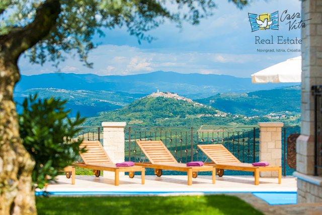 Schöne Villa mit Panoramablick in der Nähe von Porec!