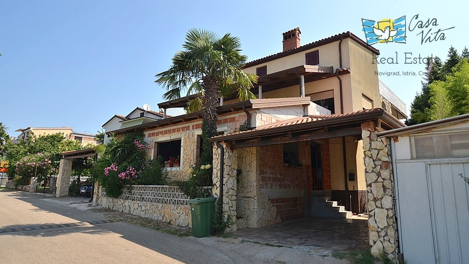 Apartment in Novigrad, 300m from the beach